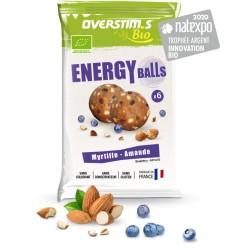 Boules énergétiques - OVERSTIM'S ENERGY BALLS BIO - Myrtille Amande