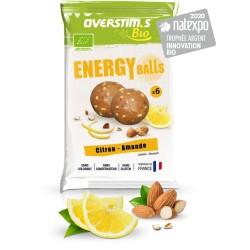 Boules énergétiques - OVERSTIM'S ENERGY BALLS BIO - Citron Amande