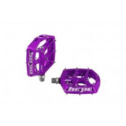 Pédales HOPE alu vtt bmx F20 violet