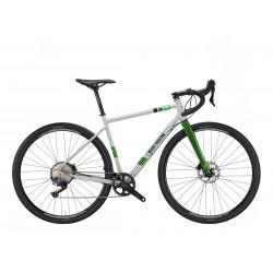 Vélo gravel 700 acier WILIER 2021 Jaroon GRX gris Spring brillant décor vert néon
