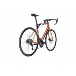 Vélo course 700 carbone - LAPIERRE 2021 Pulsium Sat 5.0 Disc - Cuivre irisé Décor noir : 2x11v