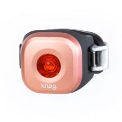 Feu arrière KNOG usb Blinder Mini Dot Cop cuivre