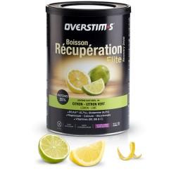 Boisson de récupération - OVERSTIM'S Elite sans gluten - Citron-citron vert - Pot 420g.