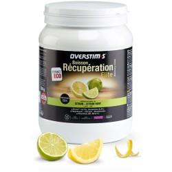 Boisson de récupération - OVERSTIM'S Elite sans gluten - Citron-citron-vert - Pot 780g.