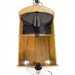 Kit d'assise enfant pour la caisse de transport bambou - Yuba Bamboo Box Seat Kit