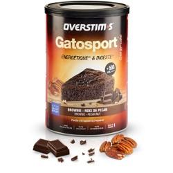 Aliment avant l'effort - OVERSTIM'S Gatosport - Brownie chocolat et noix de pécan - Pot 400g.