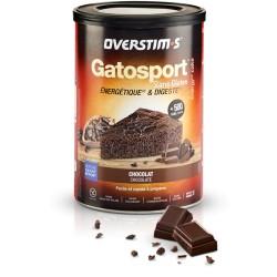Aliment avant l'effort - OVERSTIM'S Gatosport - Sans gluten - Chocolat et pépites de chocolat - Pot 400g.