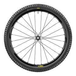 Roue à pneu 27.5p MAVIC vtt CrossMax Elite 27.5 WTS 2.25 noire décor gris avant
