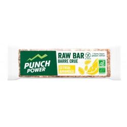 Barre énergétique - PUNCH POWER Raw Bar - Barre crue Citron amandes : la barre