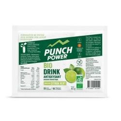 Boisson de l'effort - PUNCH POWER BioDrink Antioxydant - Citron vert : sachet de 40g