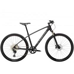 Vélo VTC homme 28p alu - TREK 2021 Dual Sport 4 - Noir mat décor gris foncé: 63mm