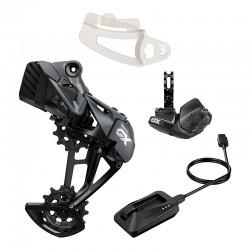 Dérailleur arrière Kit Amélioration SRAM vtt 12v GX Eagle AXS Black noir décor noir