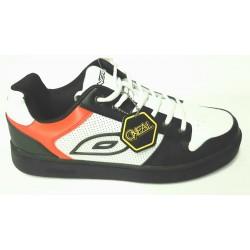 Chaussures O'NEAL vtt Stinger noir décor blanc et rouge