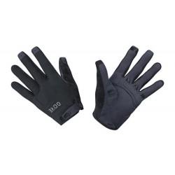 Gants longs vtt - GORE C5 Trail - noir décor gris