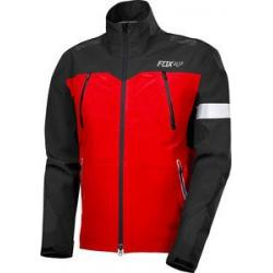 Veste imperméable FOX vtt Downpour Pro rouge décor noir