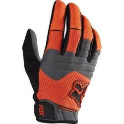 Gants longs FOX hiver Sidewinder Polar orange décor gris