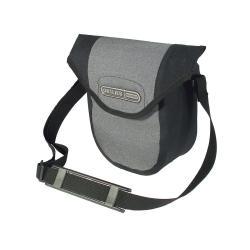 Sacoche de guidon ORTLIEB pvc Ultimate6 Compact F3306 gris granit décor noir
