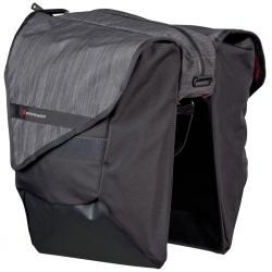 Sacoche BONTRAGER arrière double cavalière Pro Double Throw noir sur porte-bagage
