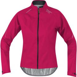 Veste imperméable GORE BIKE femme E Lady GoreTex AS fuschia décor rose