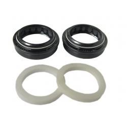 Joints ROCKSHOX cache-poussière et spi noir D30mm pour fourche plongeur 30mm
