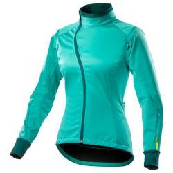 Veste coupe-vent MAVIC hiver femme Aksium Convertible vert turquoise