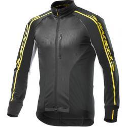 Veste thermique MAVIC hiver Cosmic Elite noir décor jaune