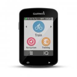 GPS vélo GARMIN compteur Edge 820 Bundle blanc décor noir