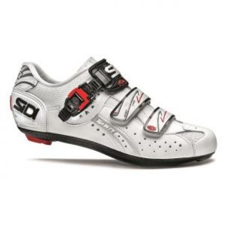 Chaussures SIDI route Genius 5 Fit Carbon Mega blanc mat