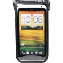 Etui téléphone T-ONE support Akula II T-BG18B étanche tactile noire