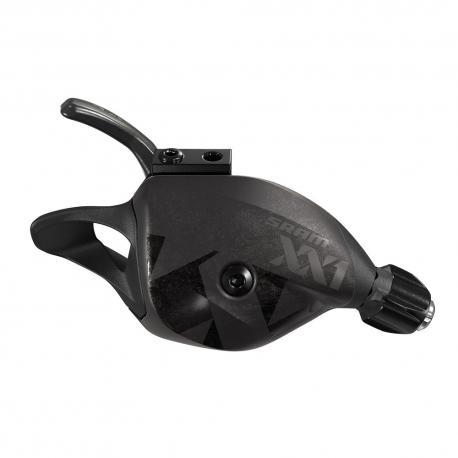 Manette de dérailleur SRAM vtt 12v Trigger XX1 Eagle Black noir décor noir