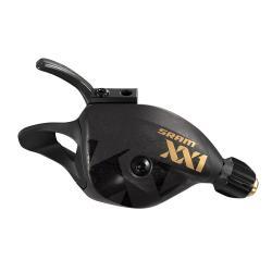 Manette de dérailleur SRAM vtt 12v Trigger XX1 Eagle Gold noir décor or