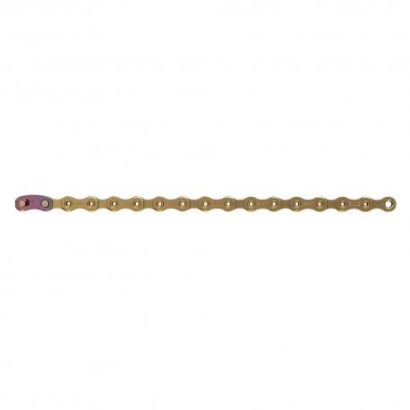Chaine SRAM route vtt 12v XX1 Eagle Gold