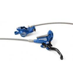 Frein à disque HOPE arrière Tech-3 X2 bleu levier noir