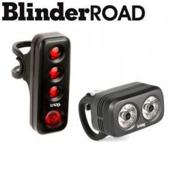 Eclairage av+ar KNOG usb Blinder Road 250 + R70 noir