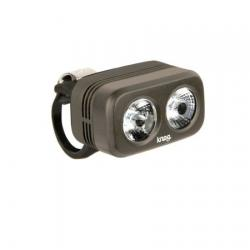 Eclairage avant KNOG usb Blinder Road 250 gris pewter