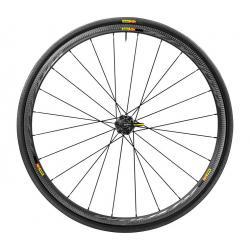 Roues à pneu 700 MAVIC route Ksyrium Pro Carbon SL C 25 noire carbon décor gris