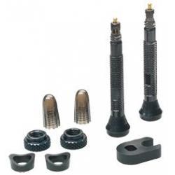 Valves tubeless SCHWALBE alu Valve Presta 40mm noire