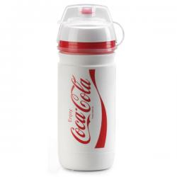 Bidon ELITE pvc Corsa CocaCola 550 blanc décor rouge