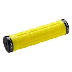 Poignées de guidon RITCHEY caoutchouc vtt WCS Trail Locking Yellow jaune