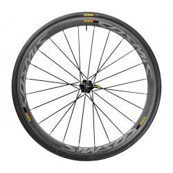 Roue à pneu 700 MAVIC route Cosmic Pro Carbon SLC 25 carbon décor gris arrière