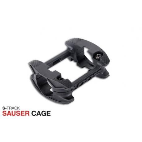 Cages plateforme LOOK composite S-Track Sauser Cages noires pour pédales vtt S-Track