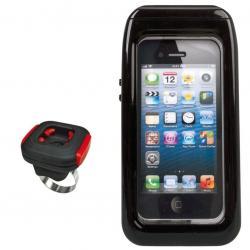 Etui téléphone KLICKFIX support Ari Case IPhone 5 5S étanche tactile noir
