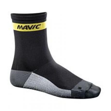 Chaussettes MAVIC été Ksyrium Carbon noir