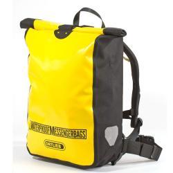 Sacoche de coursier ORTLIEB à dos Messenger Bag F2302 jaune fluo décor noir