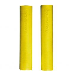 Poignées de guidon SYNCROS vtt Silicone jaune fluo