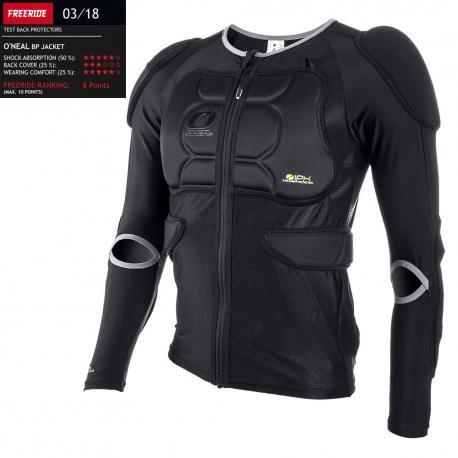 Maillot manches longues de protection ONEAL vtt BP protector jacket noir