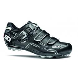 Chaussures SIDI vtt Buvel noir mat décor blanc