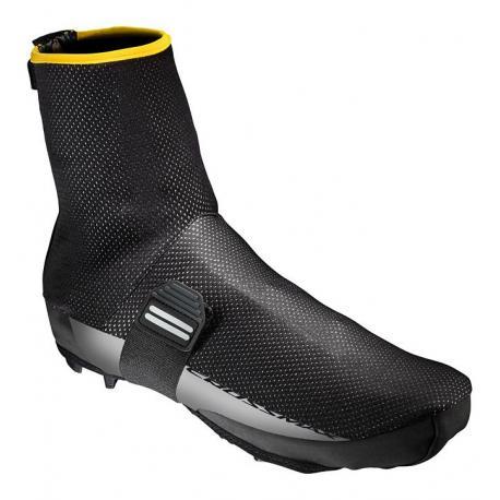 Surchaussures MAVIC vtt Crossmax Pro Thermo Plus noir décor gris et jaune