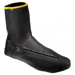 Surchaussures MAVIC route Ksyrium Pro Thermo Plus noir décor jaune