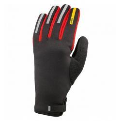 Gants longs MAVIC hiver Aksium Thermo noir décor rouge